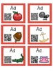 Alphabet Activities Letter Sound QR Code Task Cards the Letter A