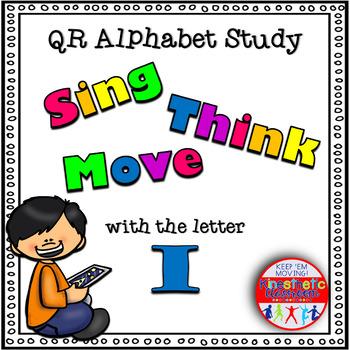 Alphabet Activities - QR Code Task Cards - Letter Sounds - I