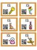 Alphabet Activities Letter Sound QR Code Task Cards the Letter K