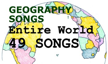 Sing Through the Entire World - Geography Songs