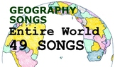 Entire World, 49 Geography Songs incl. all countries and B
