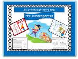 Sight Word songs, Pre-Kindergarten Power Point, worksheets