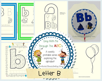 Sing With Me Through the ABC's Series – Letter B Pack