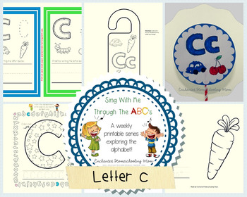 Sing With Me Through the ABC's Weekly Series – Letter C Pack