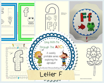 Sing With Me Through the ABC's Weekly Series – Letter F Pack
