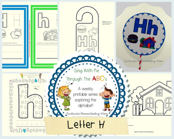 Sing With Me Through the ABC's Weekly Series – Letter H Pack