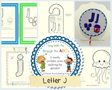 Sing With Me Through the ABC's Weekly Series – Letter J Pack