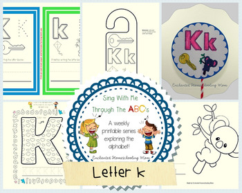 Sing With Me Through the ABC's Weekly Series – Letter K Pack