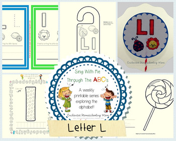 Sing With Me Through the ABC's Weekly Series – Letter L Pack