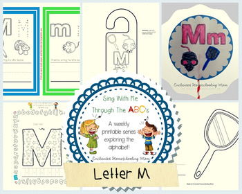 Sing With Me Through the ABC's Weekly Series – Letter M Pack