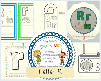 Sing With Me Through the ABC's Weekly Series – Letter R Pack