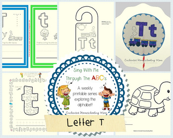Sing With Me Through the ABC's Weekly Series – Letter T Pack