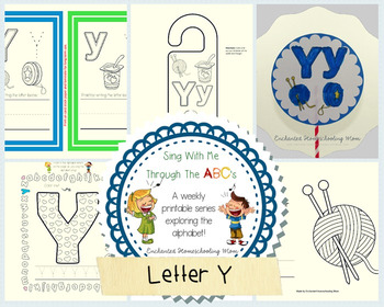 Sing With Me Through the ABC's Weekly Series – Letter Y Pack
