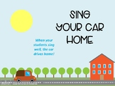 Sing Your Car Home, Music and Movement Activity, Preschool Music