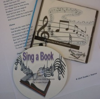 Sing a Book: There's a Boy in the Girls' Bathroom Song by Yvadne Bygrave