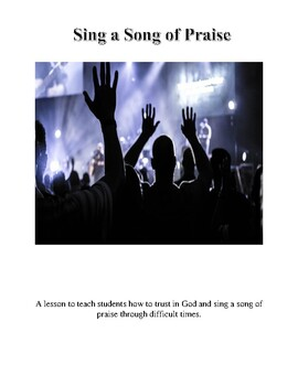 Sing a Song of Praise