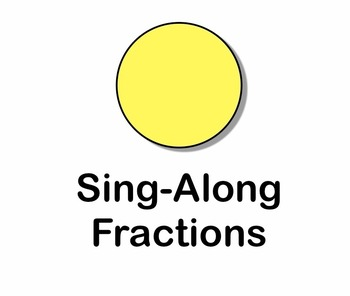 Sing-along Fractions Video/Movie mp4 by Kathy Troxel/Audio Memory
