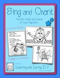 """Sing and Chant Book"" Familiar Songs and Poems to Develop Reading Fluency"