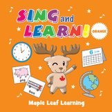 Sing and Learn Orange - Songs for Learning