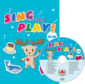 Sing and Play Blue Craft Book & Album