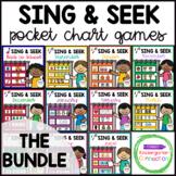 Sing and Seek Pocket Chart Games - Growing Bundle
