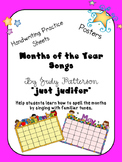 Sing and Spell the Months of the Year!