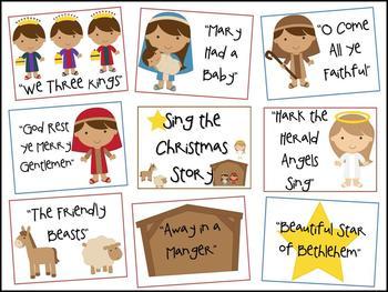 Sing the Christmas Story Bulletin Board Kit