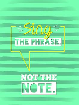 Sing the Phrase Choir Poster