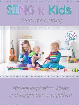 SingToKids Product Catalog