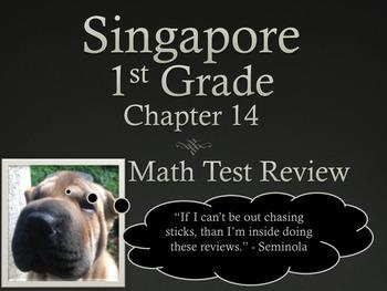 Singapore 1st Grade Math Test Reviews Bundle