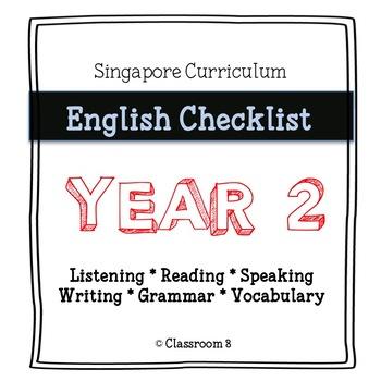 Singapore English Curriculum Checklist - Year 2