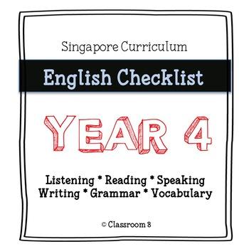 Singapore English Curriculum Checklist - Year 4