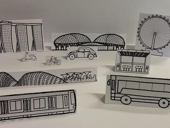 Singapore Flyer (Singapore Paper City Series)