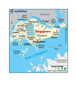 Singapore Map Scavenger Hunt