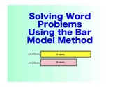 Singapore Math: A SmartBoard Intro to the Bar Model - 3rd - 5th Grade