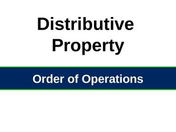 The Distributive Property