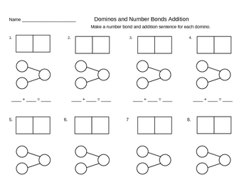 Singapore Math - Addition/Subtraction Number Bond Templates and Ideas