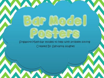 Singapore Math Bar Model Posters