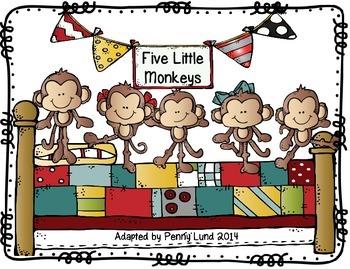Singapore Math: Five Little Monkeys