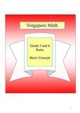 Singapore Math - Grade 5 and 6 Basic Concept of Ratio