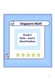 Singapore Math - Grade 6 Ratio level 2