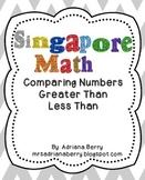 Singapore Math - Greater Than Less Than Math Unit