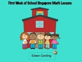 Singapore Math Lessons week 1