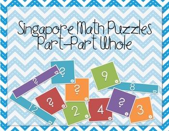 Singapore Math: Model Drawing Puzzle