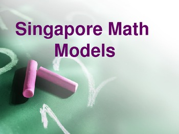 Singapore Math Models/Thinking Blocks