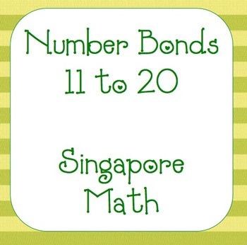 Singapore Math- Number Bonds 11-20