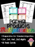 Singapore Math Partial Products Multiplication