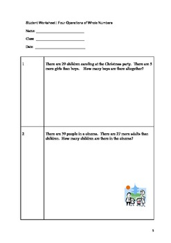 Singapore Math Word Problem 2 - Grade 3 & 4 Model Method