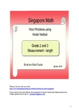 Singapore Math Word Problem - Grade 2 & 3 length