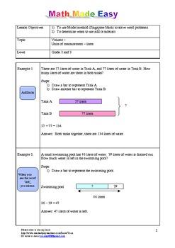 math worksheet : singapore math word problem  grade 2 and 3 volume by yoon  tpt : Singapore Math Word Problems